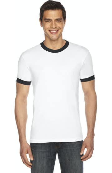 American Apparel BB410 White/Black