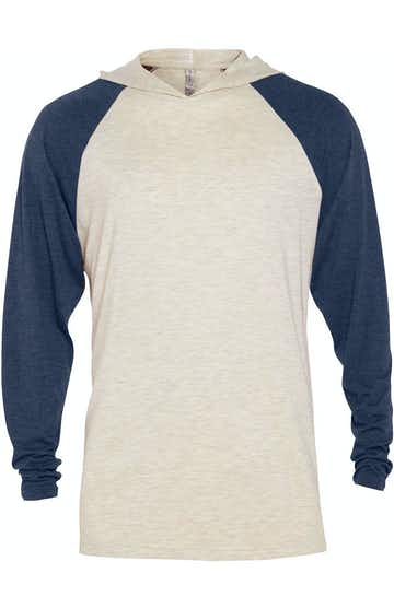 Platinum P909T Oatmeal Heather / Navy Heather