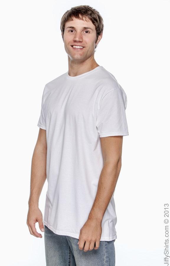 765e6c2dc61e Hanes 4980 Adult 4.5 oz., 100% Ringspun Cotton nano-T® T-Shirt -  JiffyShirts.com
