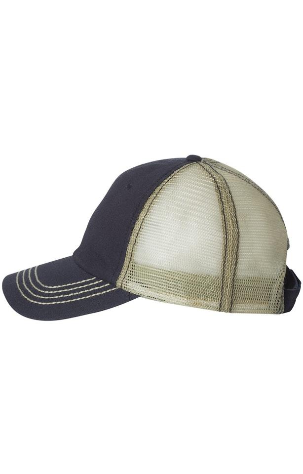 Mega Cap 6894 Navy / Khaki