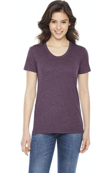 American Apparel BB301W Heather Plum