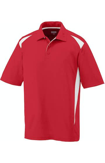 Augusta Sportswear 5012 Red/White