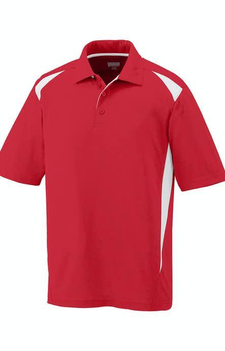 Augusta Sportswear 5012 Red/White