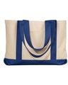 Liberty Bags 8869 Natural/Navy