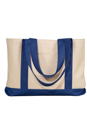 Liberty Bags 8869 Natural/Navy