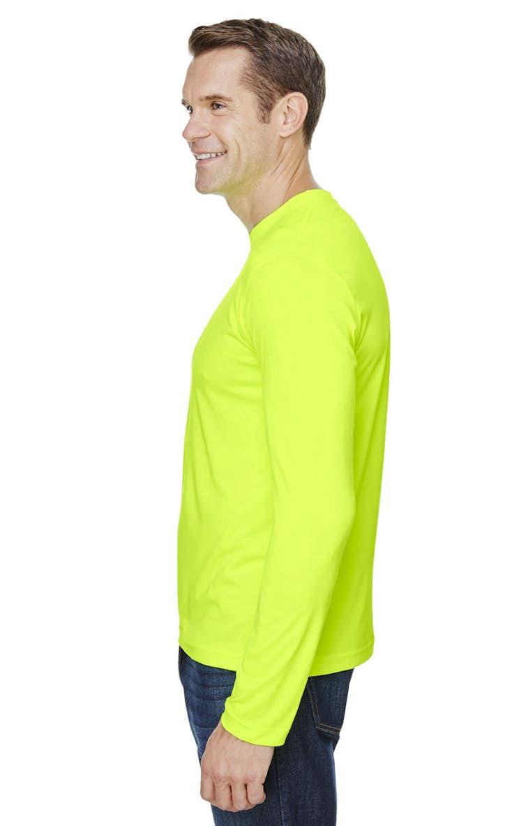 9db42d834 Bayside BA5360 Unisex 4.5 oz., 100% Polyester Performance Long-Sleeve  T-Shirt - JiffyShirts.com