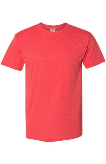 Fruit of the Loom 3931 Fiery Red Heather
