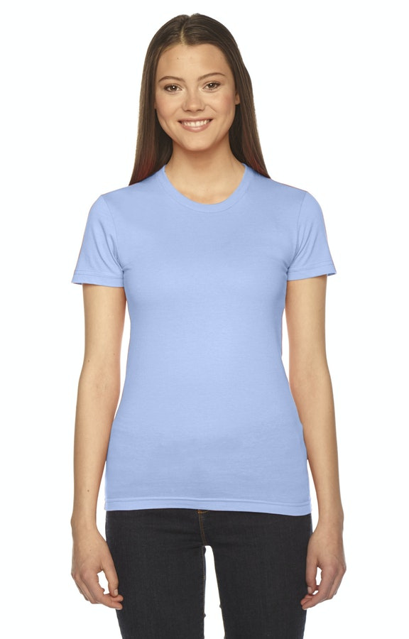 American Apparel 2102W Baby Blue