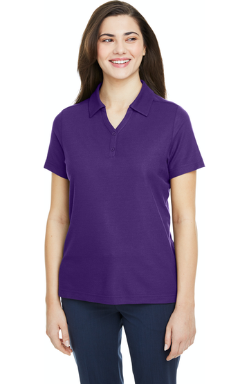 Ash City - Core 365 CE112W Campus Purple