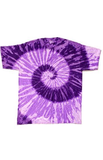 Tie-Dye CD100Y Spiral Purp/Lt Purp