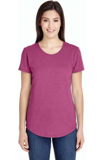 Anvil 6750L Heather Raspberry