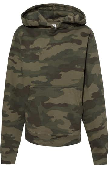 Independent Trading SS4001Y Forest Camo