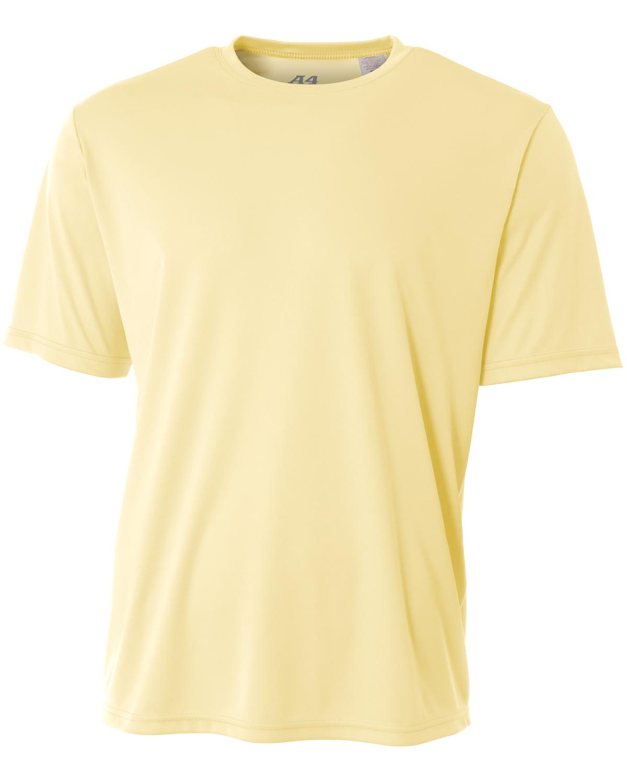 A4 N3142 LIGHT YELLOW Men's Cooling Performance T Shirt