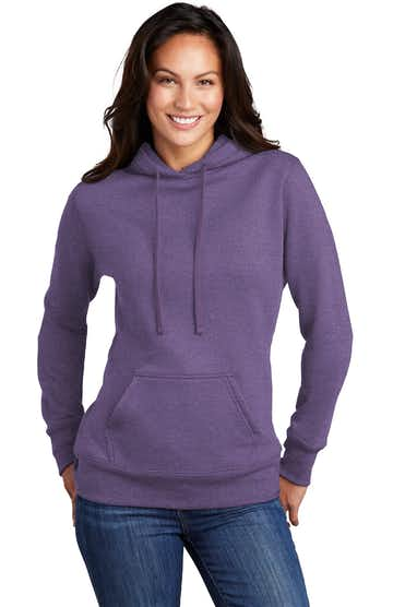 Port & Company LPC78H Heather Purple