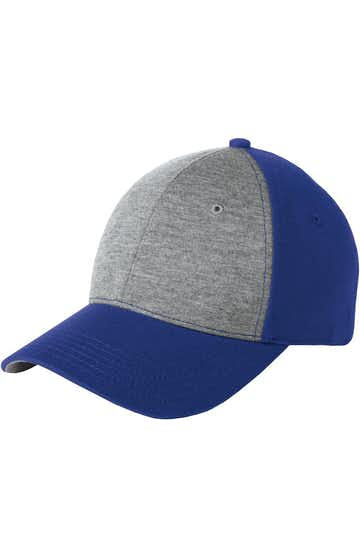 Sport-Tek STC18 Vintage Heather / True Royal