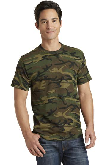 Port & Company PC54C Military Camo