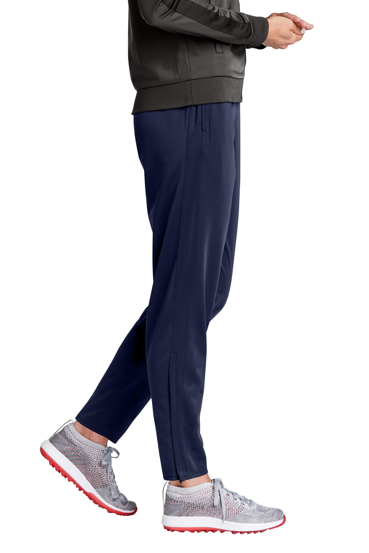 Sport Tek Lpst95 True Navy Ladies Tricot Track Jogger Yes available at sportek retail store: https www jiffyshirts com sporttek lpst95 html ac true navy