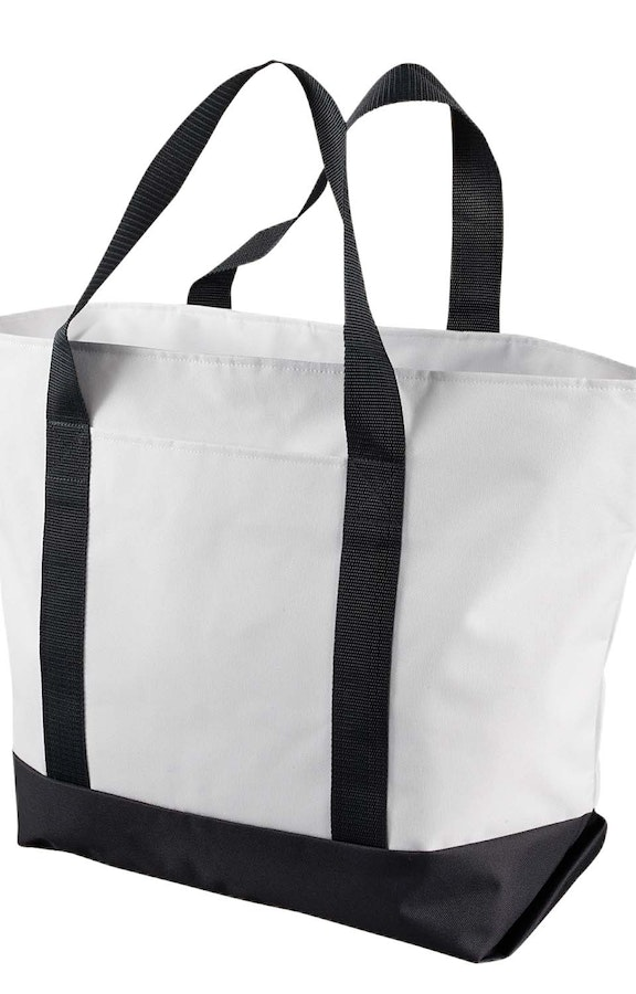 Liberty Bags 7006 White/Black