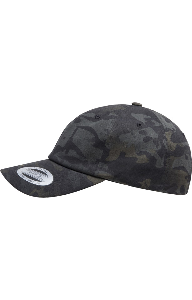 Yupoong 6245MC Black Multicam