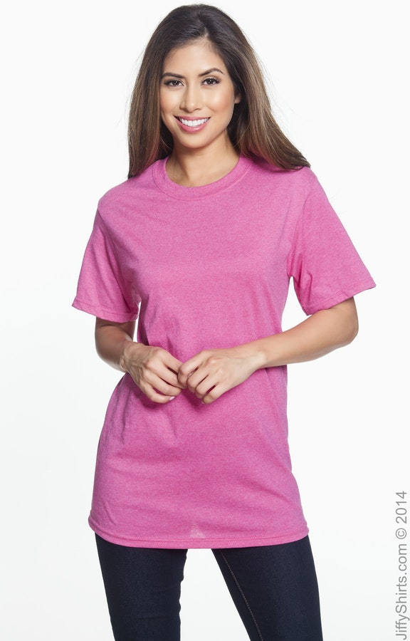 Fruit of the Loom 3931 Retro Heather Pink