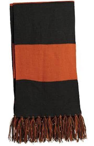Sport-Tek STA02 Black / Deep Orange