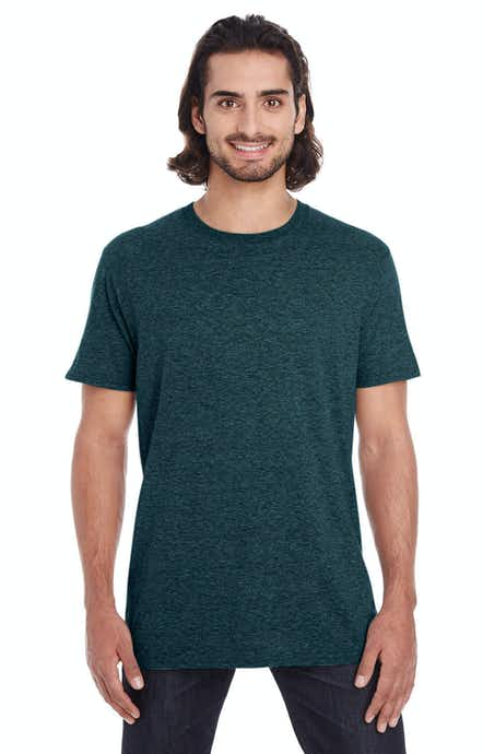 Anvil 980 Heather Dark Green