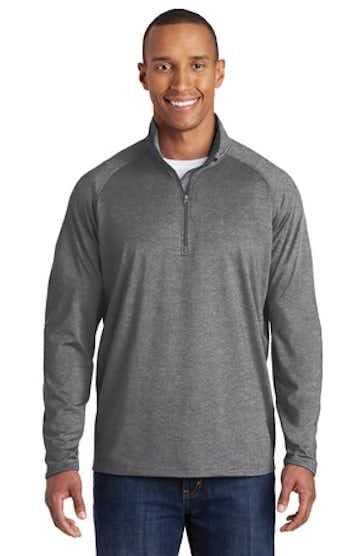 Sport-Tek TST850 Charcoal Gray Heather