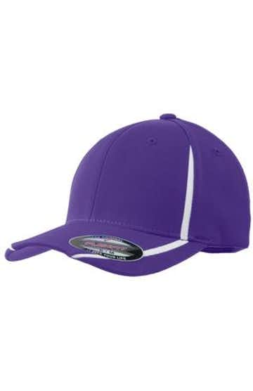 Sport-Tek STC16 Purple / White