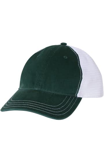 Richardson 111 Dark Green/ White