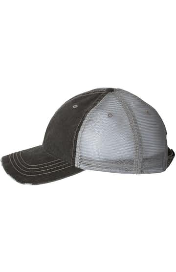Mega Cap 6990 Black / Gray