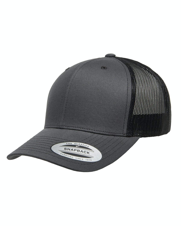 Yupoong 6606 Charcoal/ Black