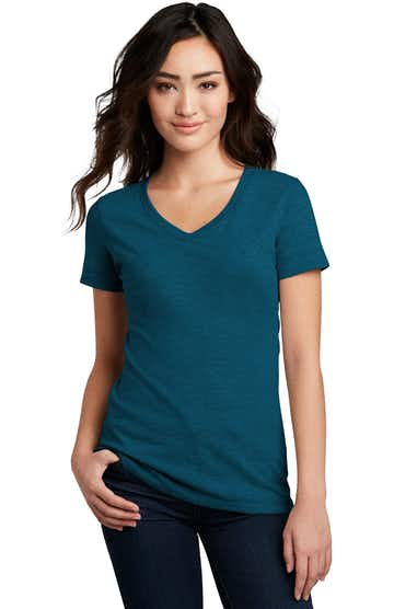 District DM1190L Deep Turquoise Fleck