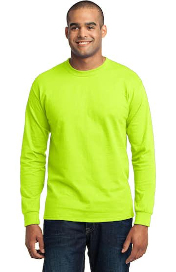 Port & Company PC55LS Safety Green