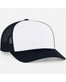 Pacific Headwear 0104PH White/Navy