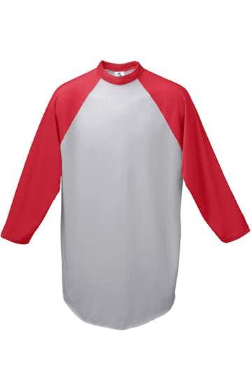 Augusta Sportswear 4421 Ath Hthr/ Red