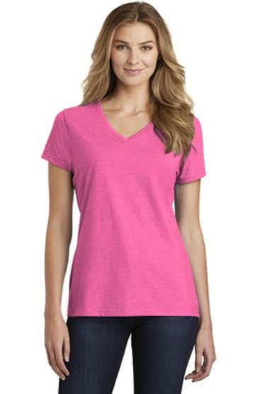 Port & Company LPC455V Neon Pink Heather