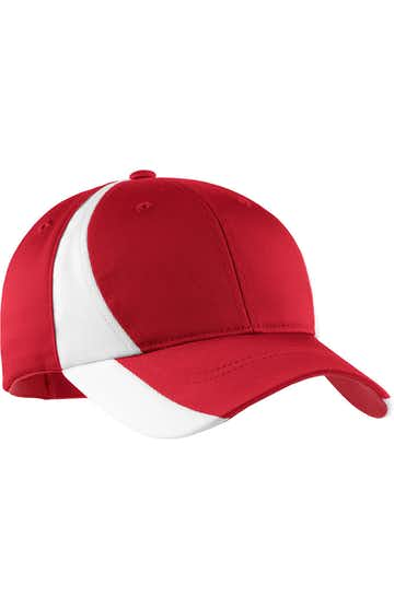 Sport-Tek STC11 True Red / White