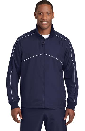 Sport-Tek JST83 True Navy / White