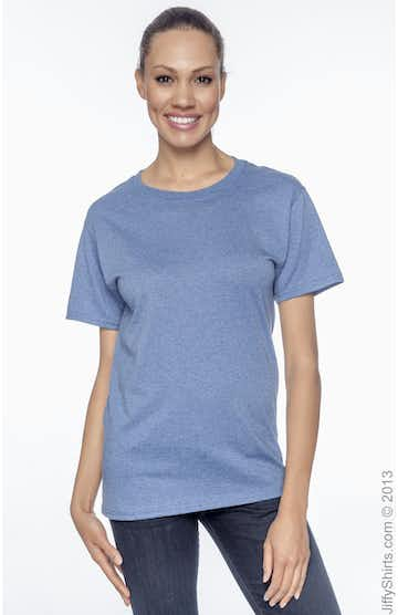 Hanes 5170 Heather Blue