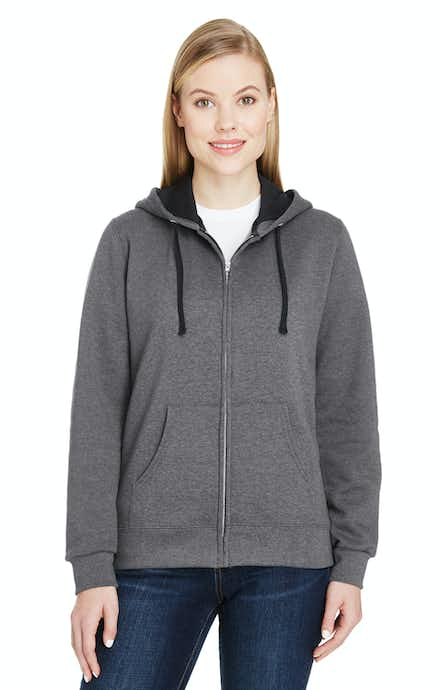 Fruit of the Loom LSF73R Charcoal Heather