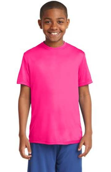 Sport-Tek YST350 Neon Pink