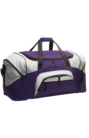 Port Authority BG99 Purple / Gray