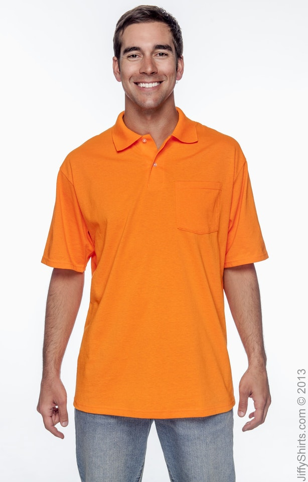 Jerzees 436P High Viz Safety Orange