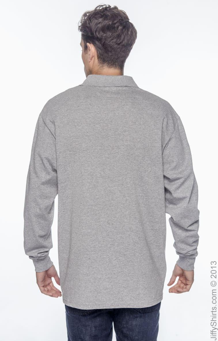 0e899c8e Jerzees 437ML Adult 5.6 oz. SpotShield™ Long-Sleeve Jersey Polo ...