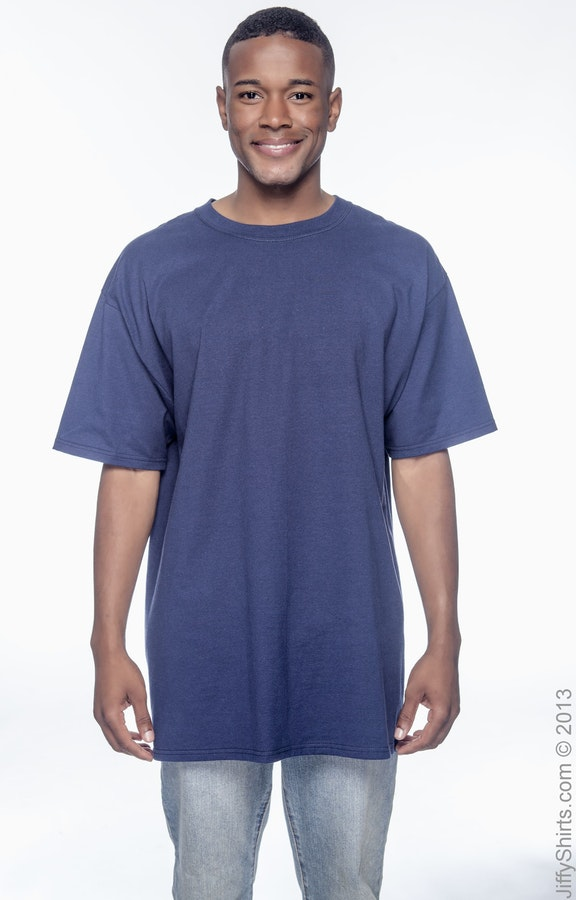 0ad50780 Hanes 518T Men's Tall 6.1 oz. Beefy-T® - JiffyShirts.com