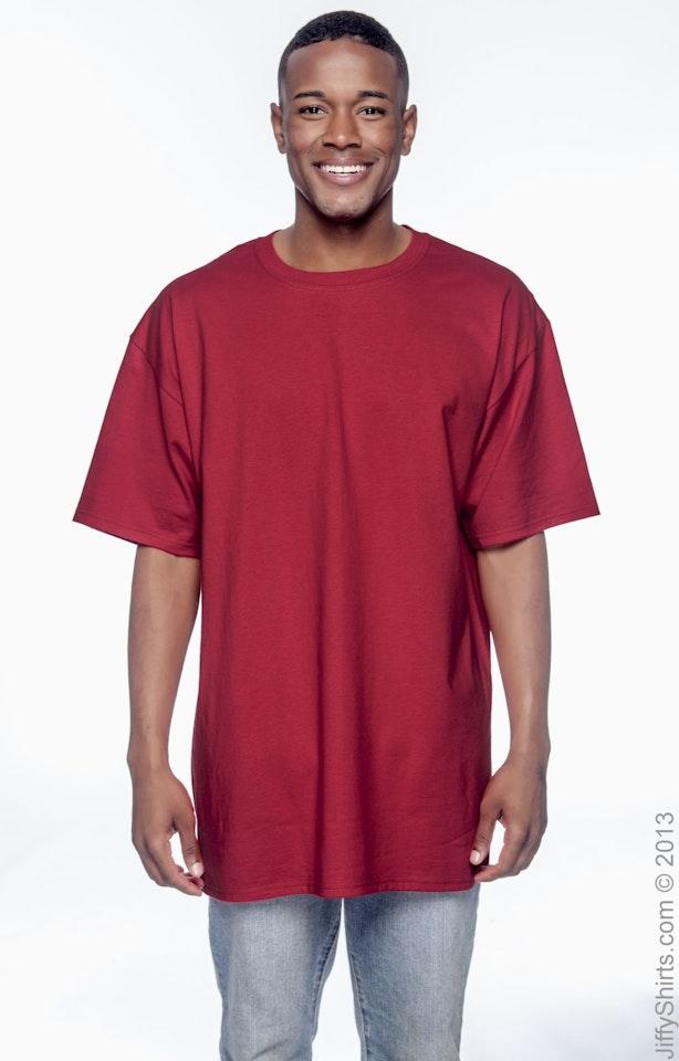Hanes 518T Deep Red