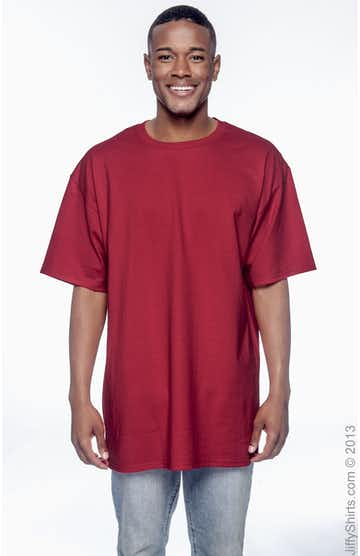Hanes 518T Deep Red