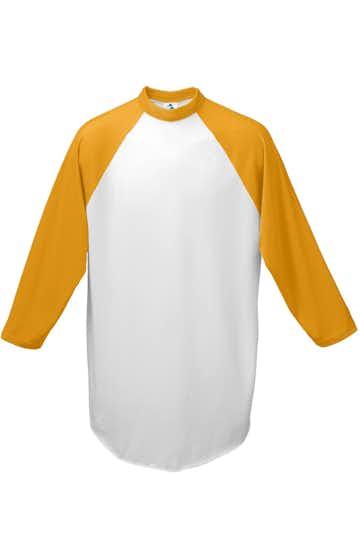 Augusta Sportswear 4421 White/ Gold