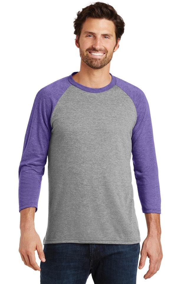 District DM136 Purple Fr / Gray French