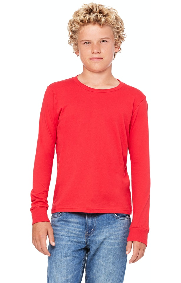 Bella + Canvas 3501Y Red